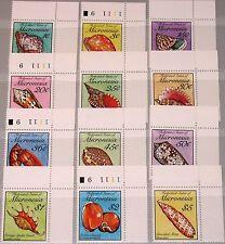 MICRONESIA MIKRONESIEN 1989 142-53 Zf 83-102 Seashells Shells Muscheln Fauna MNH