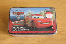 Cars 2 trading card game box tin TOPPS