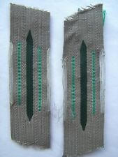 WW2 Heeres Jager or Gebirgsjager or XX Polizei collar tabs. ORIGINAL Mint