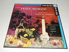 RESPIGHI Feste Romane NM Goossens Rachmaninoff 2 lps Box set Symphonic Dances