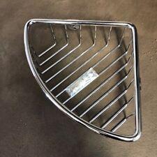 Euroshowers Single Corner Shower Basket Chrome on S/Steel Rustproof - 31820