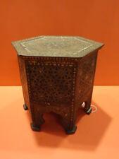 ALL ORIGINAL HUNTLEY & PALMERS SYRIAN MOORISH TABLE BISCUIT TIN BOX 1903