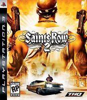 SAINTS ROW 2 PS3 Black Label