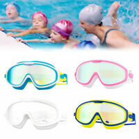 Kids Snorkel Mask Swim Diving Mask Goggles for Youth Anti-Fog 180° Clear View;