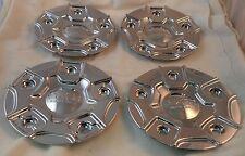 Starr Wheels Chrome Custom Wheel Center Cap Set 4 (1) # C-390 / LG0910-34