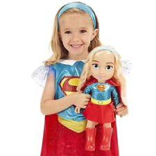 DC SUPER HERO GIRL 36CM SUPERGIRL SOFT TODDLER ACTION FIGURE GIRL TOY DOLL SET