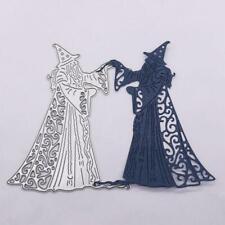 Halloween Wizard Metallschneideisen Stencil DIY Scrapbooking Album Papierkarte