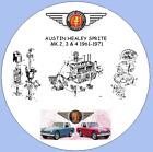 AUSTIN HEALEY SPRITE  MK.2, 3 & 4 Workshop Manual ,Parts Lists, Wiring Diagrams