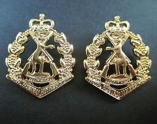 RAR ROYAL AUSTRALIAN REGIMENT SKIPPY BADGE COLLAR SET PAIR LEFT & RIGHT