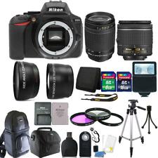 Nikon D5600 24.2 MP D-SLR Camera + 18-55mm + 70-300mm Lens + 24GB Accessory Kit