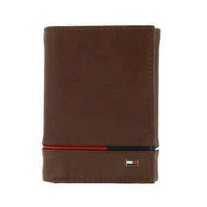 Tommy Hilfiger Trifold Leather Wallet RFID Protection 31TL110044