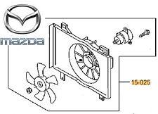 Genuine Mazda 2 2012-2018 1.5 Petrol Engine Radiator Fan Complete Kit P53W15025