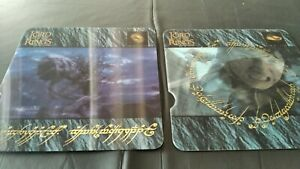 4 Nestle lenticular lord of the rings action movie stickers 2003 trading cards
