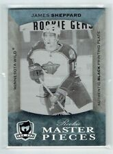07-08 UD The Cup  James Sheppard  1/1  Printing Plate  Rookie