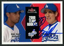 Shawn Gilbert #U110 signed autograph auto 2000 Fleer Tradition Team Rookies Card