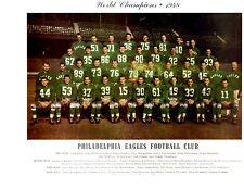 1948 WORLD CHAMPIONS PHILADELPHIA EAGLES TEAM 8X10  PHOTO FOOTBALL