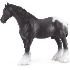 Shire Horse - Black Pinto 13 cm Pferdewelt Collecta 88149