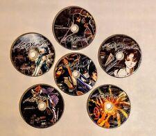 s-CRY-ed, 6 Disc Set, Vol 1 - 6,  Manga Anime DVD, Loose Discs Only - Bandai