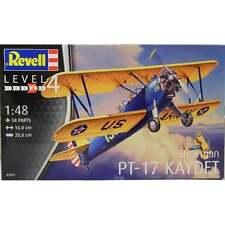 KIT REVELL 1:48  AEREO STEARMAN PT-17 KAYDET  LUNGHEZZA 16 CM     ART 03957
