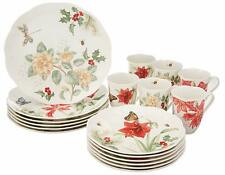 Lenox Butterfly Meadow Holiday 18-piece Dinnerware Set Service for 6