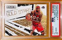💎2009 LeBron James PANINI ROOKIES & STARS BLACK GOLD #3 /100 PSA 10 BGS prizm