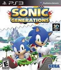 Sonic Generations PS3 New Playstation 3