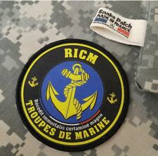 """SNAKE PATCH - écusson TDM """" RICM """" Régiment d'Infanterie Chars de Marine - 2 DB"""
