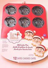 Wilton Elf on the Shelf Cookie Pan 12 Cavities for Christmas Cookies NEW