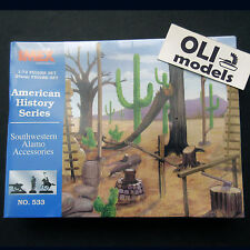 1/72 Southwestern ALAMO Accessories Diorama Set - IMEX 533