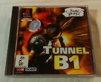 Tunnel B1 PS1 1996 FPS Ocean Software [PlayStation One] Complete