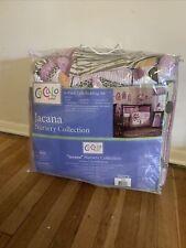 Cocalo Jacana Jungle 6pc Crib Bedding Set Quilt Sheet Nursery Girls