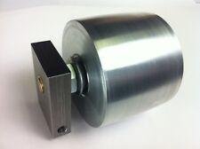 "Belt Grinder Tracking Wheel for 2x72"" knife making grinder with axle & mount"