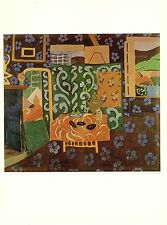 """1973 Vintage HENRI MATISSE """"STILL LIFE WITH AUBERGINES"""" COLOR offset Lithograph"""