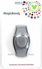 NEW 2017 Disney Parks GRAY Magic Band 2 2.0 Link It Later MagicBand Linkable