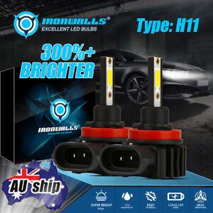 H8 H9 H11 LED Headlight 6000K For Holden VE Commodore SSV SS SV6 HSV High Beam