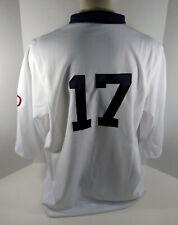 2009 Pittsburgh Pirates Sean Burnett #17 Game Issued White Jersey 1909 PBC