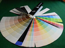 SHERWIN-WILLIAMS PAINT COLOR SAMPLE SWATCH Color Chip FAN DECK