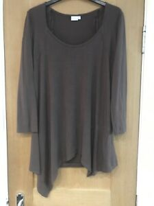 Womens Brown Maternity Tunic Top Size S By Blooming Marvellous