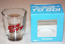 Frank Miller's Sin City Logo Shot Glass-Diamond Select/Troublemaker-New w/Box