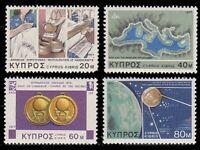 Cyprus #486-489 MNH CV$1.00