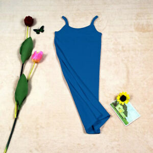 US Women Plus Full Slips Cotton Camisole Under Dress Underdress Petticoat Sling