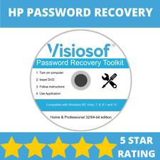 HP Password Reset Recovery Password Removal CD DVD Windows XP VISTA 7 8 10