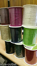 Burlap Twisted  Hessian Jute Bow Craft Gift Wrap String Rustic Rope Ribbon - 4m