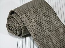 NWT Oxxford Clothes Woven Silk Tie Silver Gray 57 x 3 7/8