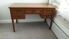 Solid Wood Desk, Vintage Antique Writing ENGLISH