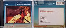 IL MONDO DI FRANCESCO DE GREGORI VOL.1 CD 1990