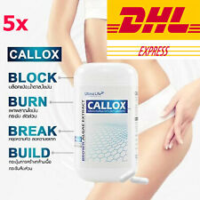 5 X CALLOX Rapid Weight Loss Work Fast Slimming Diet 30 Caps DHL Express
