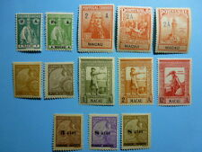 LOT 5270 TIMBRES STAMP DIVERS MACAO MACAU ANNEE 1914-41