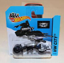 2014 Hot Wheels HW City #64 Batman The Dark Knight Bat-Pod Bat Pod New SC