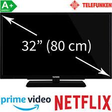 """Telefunken 32"""" HD-ready LED TV HD Triple Tuner Smart TV WLAN Fernseher 80 cm A+"""